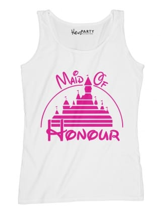 Magical Princess 'Maid of Honour' Personalised Hen Party T-Shirts