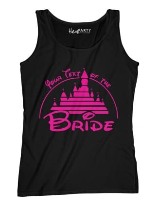 Magical Princess Your Text Of The Bride T-Shirts