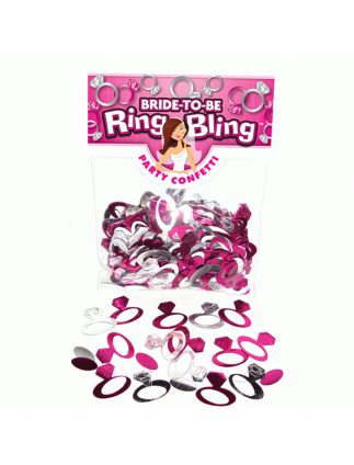 Hen Night Party Bling Ring Table Confetti!