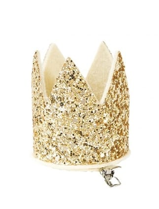 Mix & Match Gold Glitter Crown