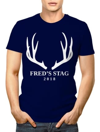 6c55ab07d Buy Stag T-shirts | Personalised Polo, Vest & T-Shirts | From £8.97