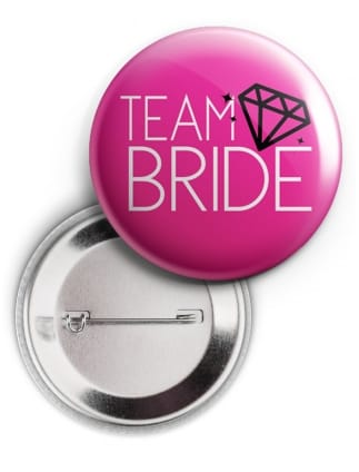 Diamond Team Bride Badge