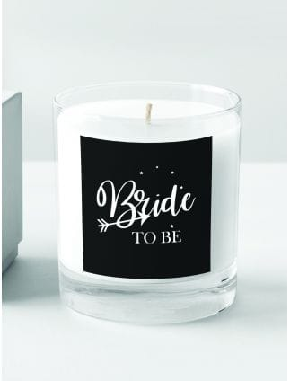 Love Arrow 'Bride to Be' Candle
