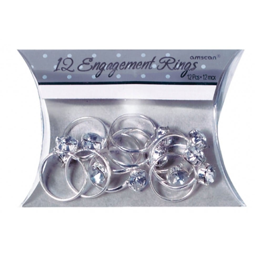 x12 hen party engagement rings table confetti/party favours| hen