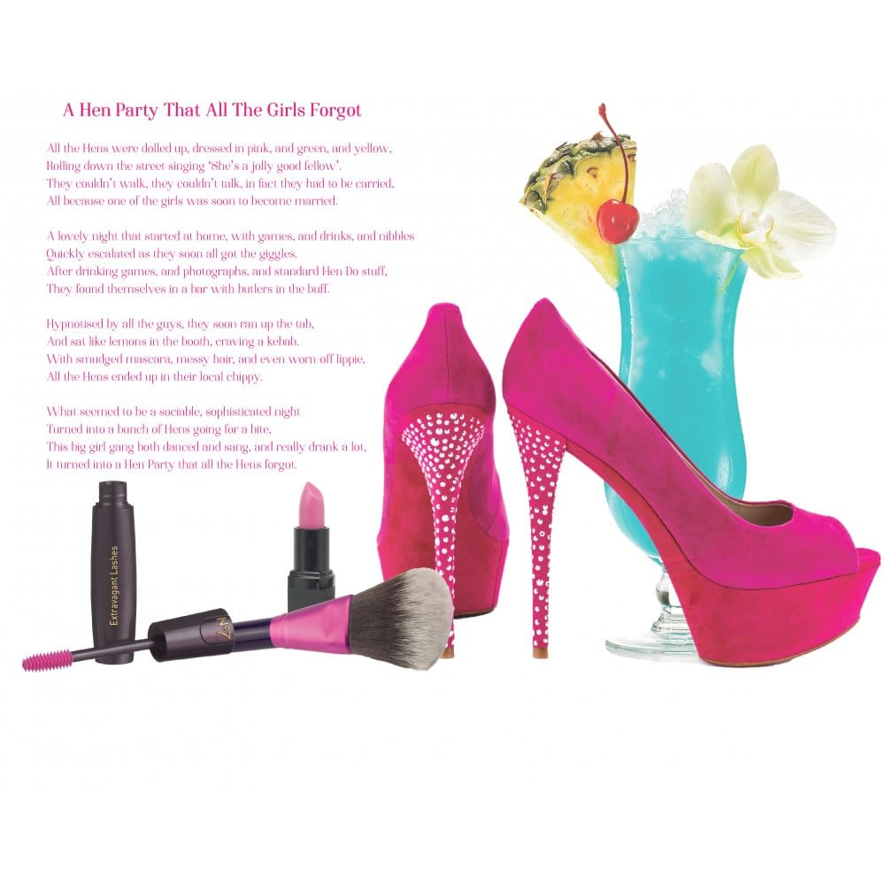 Hen Party Poem - A Hen Party That All The Hens Forgot | Hen Party ...