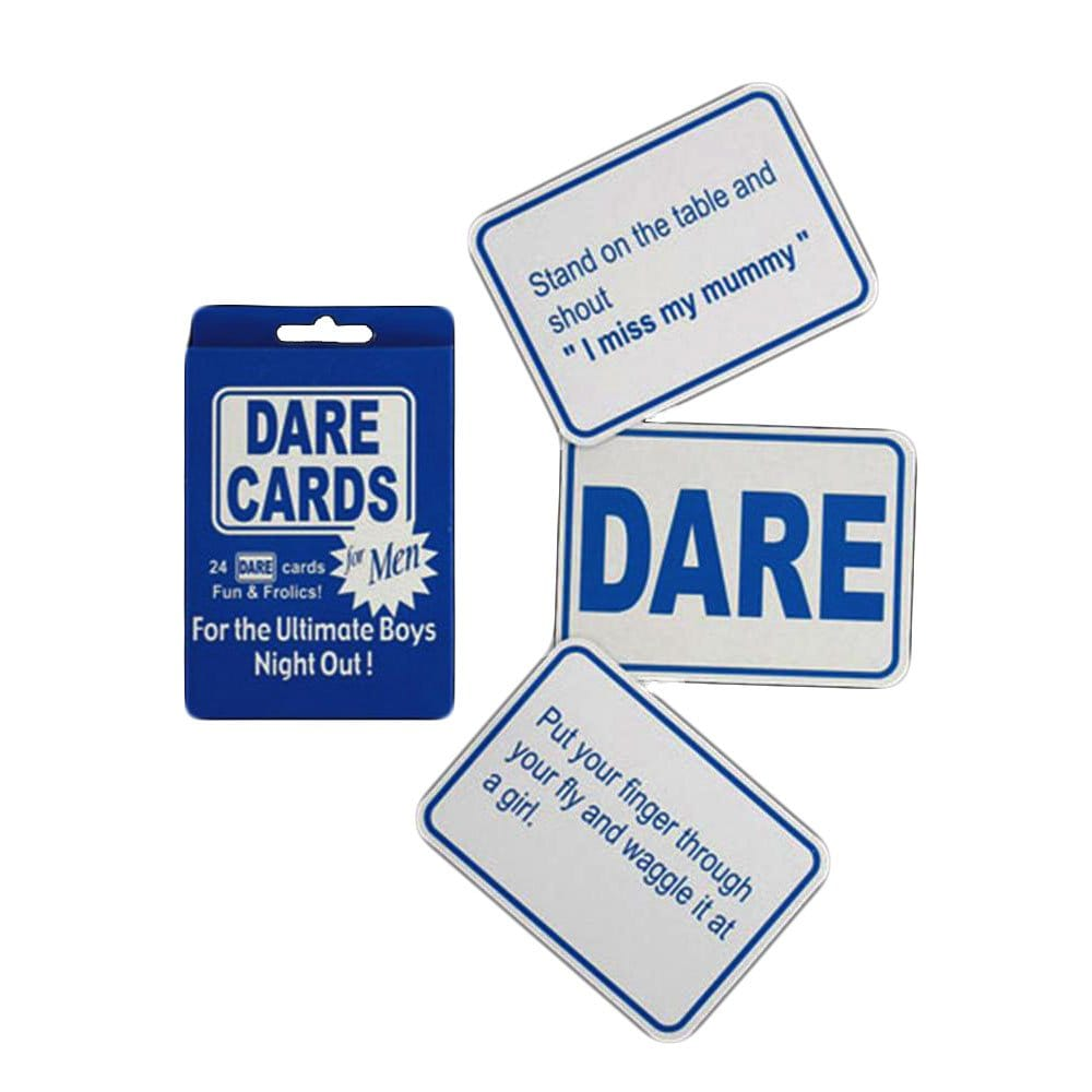 Stag Night Dare Cards Stag Night Accessories