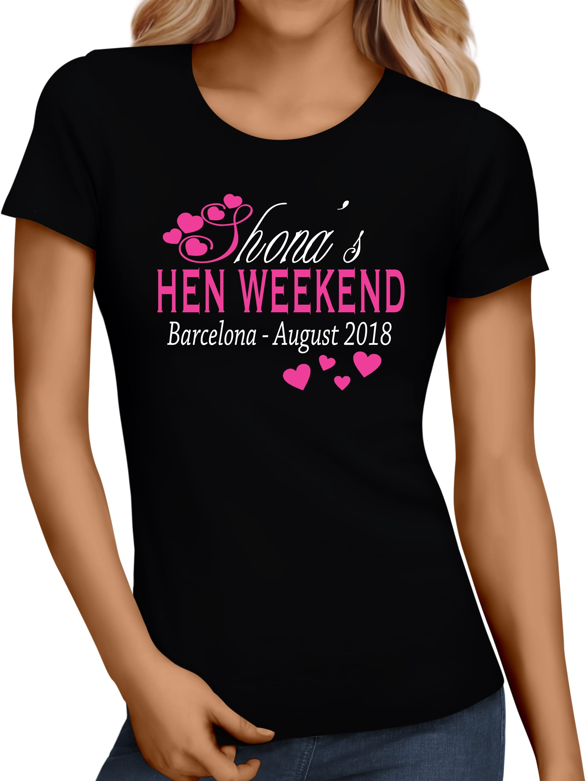 Hen night party personalised t shirt hen party superstore for Hen party t shirts