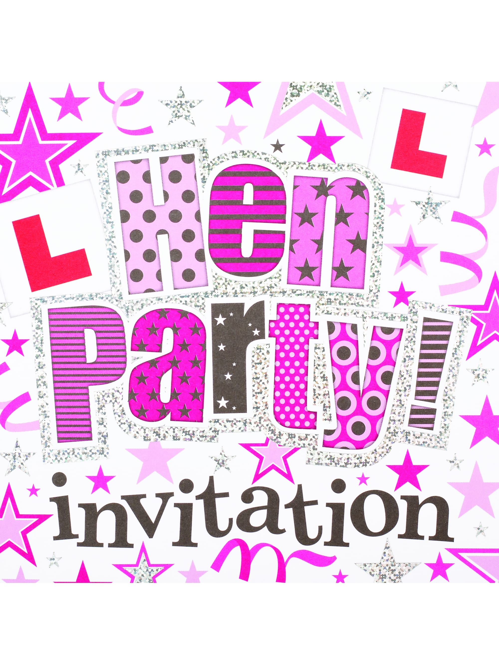 Hen party invitations fun hen party superstore x6 hen night party invites monicamarmolfo Image collections