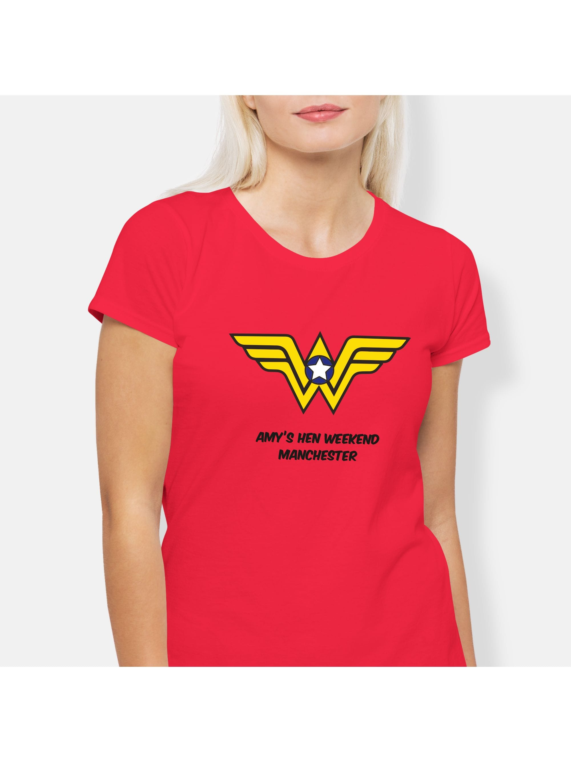326da0e0 Hen Party Superstore Wonder Hen Party T-Shirts - Personalised Items ...