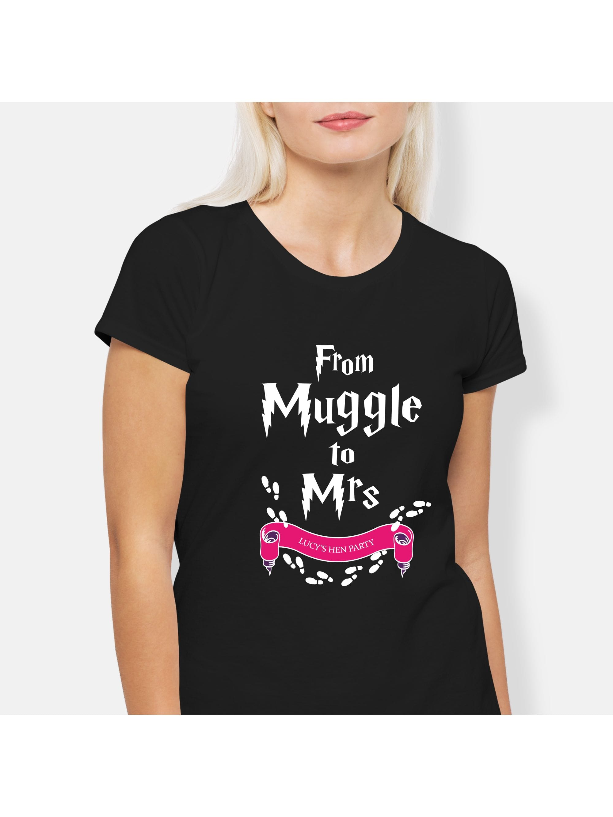 c908092a Harry Potter Personalized Hen Party T-Shirt | Hen Party Superstore
